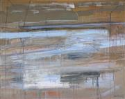 Sale 8938A - Lot 5066 - Gail English (1939 - ) - Flood Waters, 1990 121 x 151.5 cm (frame: 134.5 x 155 x 7 cm)