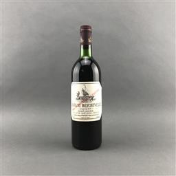 Sale 9120 - Lot 1059 - 1978 Chateau Beychevelle, 4me Cru Classe, Saint-Julien - base of neck