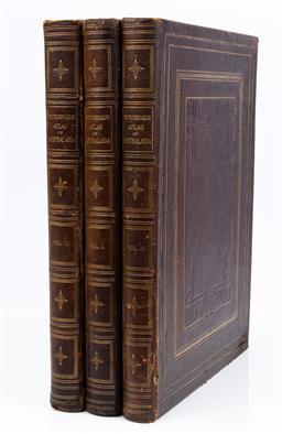 Sale 9130S - Lot 57 - Picturesque Atlas of Australasian in three vols, 1886, foxing
