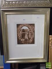Sale 8513 - Lot 2003 - David Boyd Reconciliation, etching, 62 x 51cm (frame size), unsigned