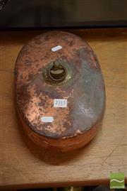 Sale 8518 - Lot 2315 - Copper Hot Water Bottle
