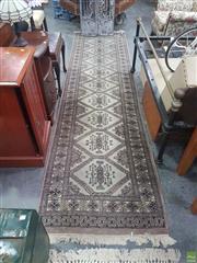 Sale 8648C - Lot 1075 - Persian Hall Runner (314 x 82cm)