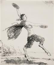 Sale 8953 - Lot 2034 - Adrian Feint (1894 - 1971) - The South Wind 16.5 x 14cm; 44.5 x 34.5cm (sheet size)