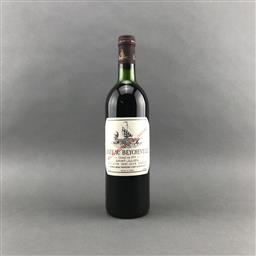 Sale 9120 - Lot 1060 - 1978 Chateau Beychevelle, 4me Cru Classe, Saint-Julien - base of neck