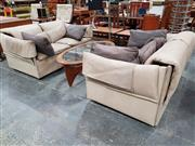 Sale 8908 - Lot 1081 - Pair of B&B Italia 2 Seater Lounges