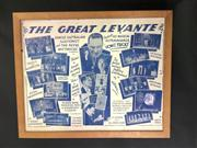 Sale 8539M - Lot 3A - The Great Levante - Famous Australian Illusionist and the Revue Mysterious presents His Magical Extravaganza. Original poster in f...