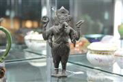 Sale 8342 - Lot 64 - Javanese Bronze Ganesha Figure