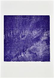 Sale 8347A - Lot 5 - John Nixon (1949 - ) - Purple, 1988 (Self Portrait Series) 59 x 59cm (99 x 70cm, sheet size)