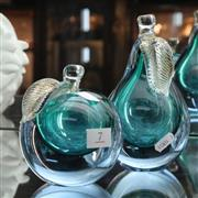 Sale 8362 - Lot 7 - Murano Art Glass Pear & Apple