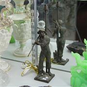 Sale 8379 - Lot 90 - Figural Man Lamp