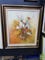 Sale 8544 - Lot 2009 - Daphne Wearne (XX) - Still Life 59 x 49cm