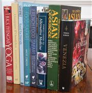 Sale 8595A - Lot 59 - A quantity of cook books & a book on Yoga & Alternative Medicine