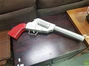 Sale 8620 - Lot 1031 - Oversized Timber Pistol