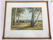 Sale 8649R - Lot 98 - Arnold Jarvis - Watercolour - (34.5 x 25.5cm) (Small Hairline to Glass)