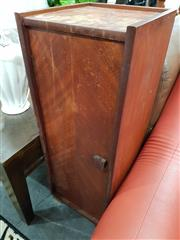 Sale 8745 - Lot 1092 - Retro Single Door Cabinet