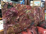 Sale 8805 - Lot 1096 - Large Patchwork Wall Hanging