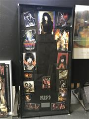 Sale 8964 - Lot 2091 - Framed KISS Ephemera