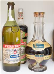 Sale 8486A - Lot 76 - 3 x bottles including; Pernod, Amari Brizard, & Echt Stonsdorfer