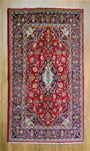 Sale 8566C - Lot 31 - Persian Kashan 230cm x 135cm