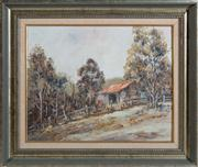 Sale 8595A - Lot 60 - Graham Mackenzie - Wallambah Country Rae 40 x 49cm