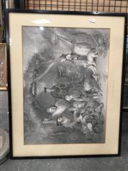 Sale 8726 - Lot 2089 - Artist Unknown - The Highland Whiskey Still, engraving