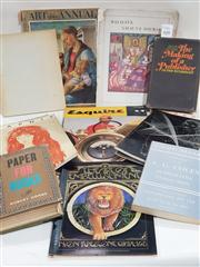 Sale 8822B - Lot 828 - Collection of Books & Magazines incl. Weybright, V. The Making of a Publisher, pub. Reynal & Co., 1967; Avon Artstone Graphies Th...