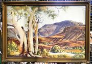 Sale 8941 - Lot 2088 - Albert Namatjira Decorative Print (frame: 60 x 83cm)