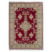 Sale 9061C - Lot 13 - Persian Fine Tabriz Rug, 100x150cm, Handspun Wool & Silk Inlaid