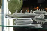 Sale 8346 - Lot 6 - Waterford Crystal Titanic Replica