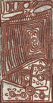 Sale 8718 - Lot 537 - Yinarupa Nangala (c1958 - ) - Untitled, 1999 acrylic on linen