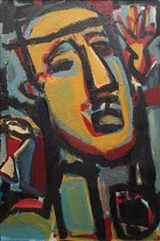 Sale 8764A - Lot 5030 - Helen Kazepis (1956 - ) - Orpheus, 1988 116.5 x 78cm