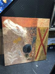 Sale 8841 - Lot 2013 - Nigel Noyes Common Knowledge alkyd and oil on board, 60 x 60cm, signed lower centre