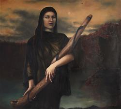 Sale 9139 - Lot 2037A - Sally Aurisch - Original Song, 2003 138 x 151 cm (frame: 149 x 165 x 5 cm)