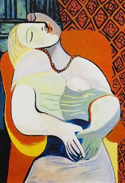 Sale 9108A - Lot 5077 - Pablo Picasso (1881 - 1973) - Le Rhonde 63 x 50 cm