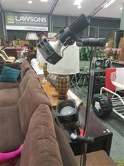 Sale 8620 - Lot 1033 - Standard Lamps x 2