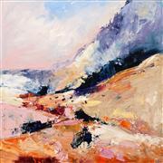 Sale 8642A - Lot 5037 - Cheryl Cusick - The Valley 100 x 100cm