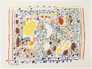 Sale 8704 - Lot 574 - Pablo Picasso (1881 - 1973) - A Los Toros - Le Picador II, 1961 24 x 32cm