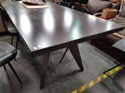 Sale 8724 - Lot 1032 - Metal Designer Dining Table with Metal Legs (L: 190cm)