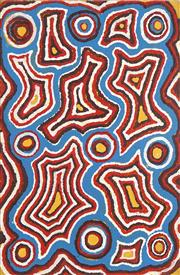 Sale 8718 - Lot 516 - Pukurny Mick Gill Tjakamarra (c1920 - ) - Balgo Law Country, 1997 acrylic on linen