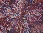 Sale 8813 - Lot 541 - Rosemary (Pitjara) Petyarre (c1965 - ) - Yam Leaf Dreaming 152 x 198cm
