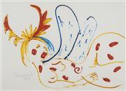 Sale 8732 - Lot 525 - John Perceval (1923 - 2000) - Angel in Repose 1982 55 x 75.5cm