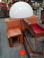 Sale 8741 - Lot 1038 - Orange Standard Lamp
