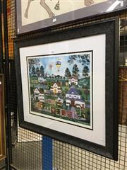 Sale 8752 - Lot 2034 - Jane Wooster Scott (XX) - The Quilts Of Cape Cope 41 x 51cm