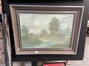 Sale 8878 - Lot 2054 - William (Bill) Freeman, Winter Landscape, 1981, oil on board, 50 x 64.5cm, signed lower left