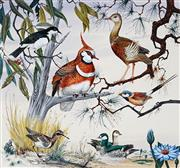 Sale 8943A - Lot 5017 - Ralph Malcolm Warner (1902 - 1966) - Birds of Northern Territory, c1959 gouache
