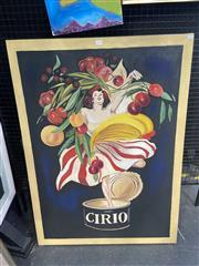Sale 8995 - Lot 2019 - Artist Unknown Cirio acrylic on canvas  110 x 81cm (frame)