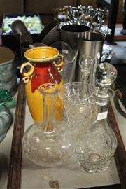 Sale 8351 - Lot 100 - Chrome Jug Sporting a Figural Handle with Home Wares incl. Bundaberg Rum Decanter