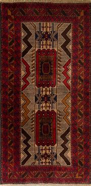 Sale 8424C - Lot 2 - Persian Baluchi 205cm x 105cm