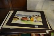 Sale 8471 - Lot 2069 - Watercolour Prints by Wong with Others