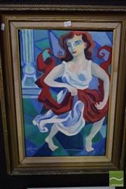 Sale 8530 - Lot 2026 - N.B Smidt - Dancing, 1994 59 x 39cm